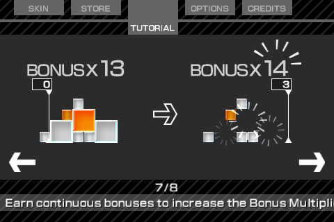 Screenshot Lumines: Touch Fusion Review