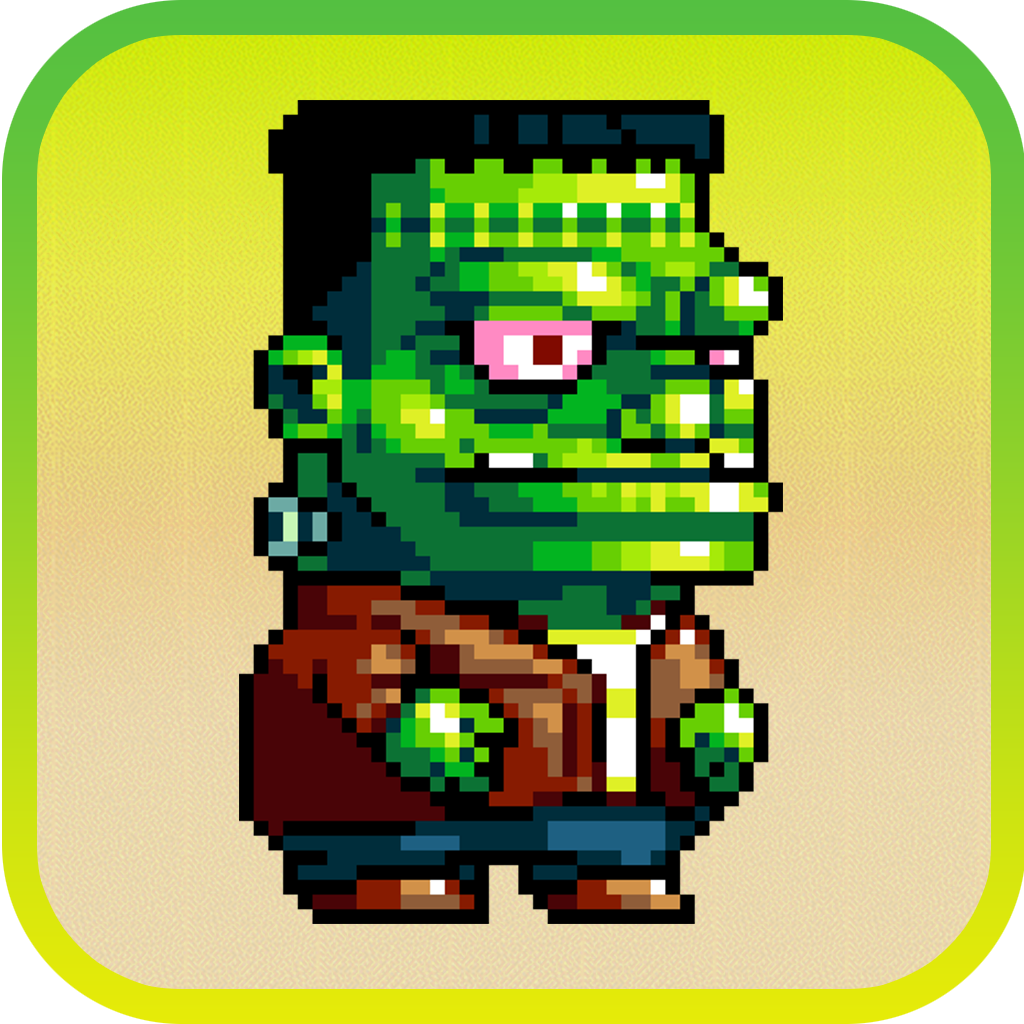Dumpy Pixel Monsters: The Adventure of Scary Aliens HD Edition