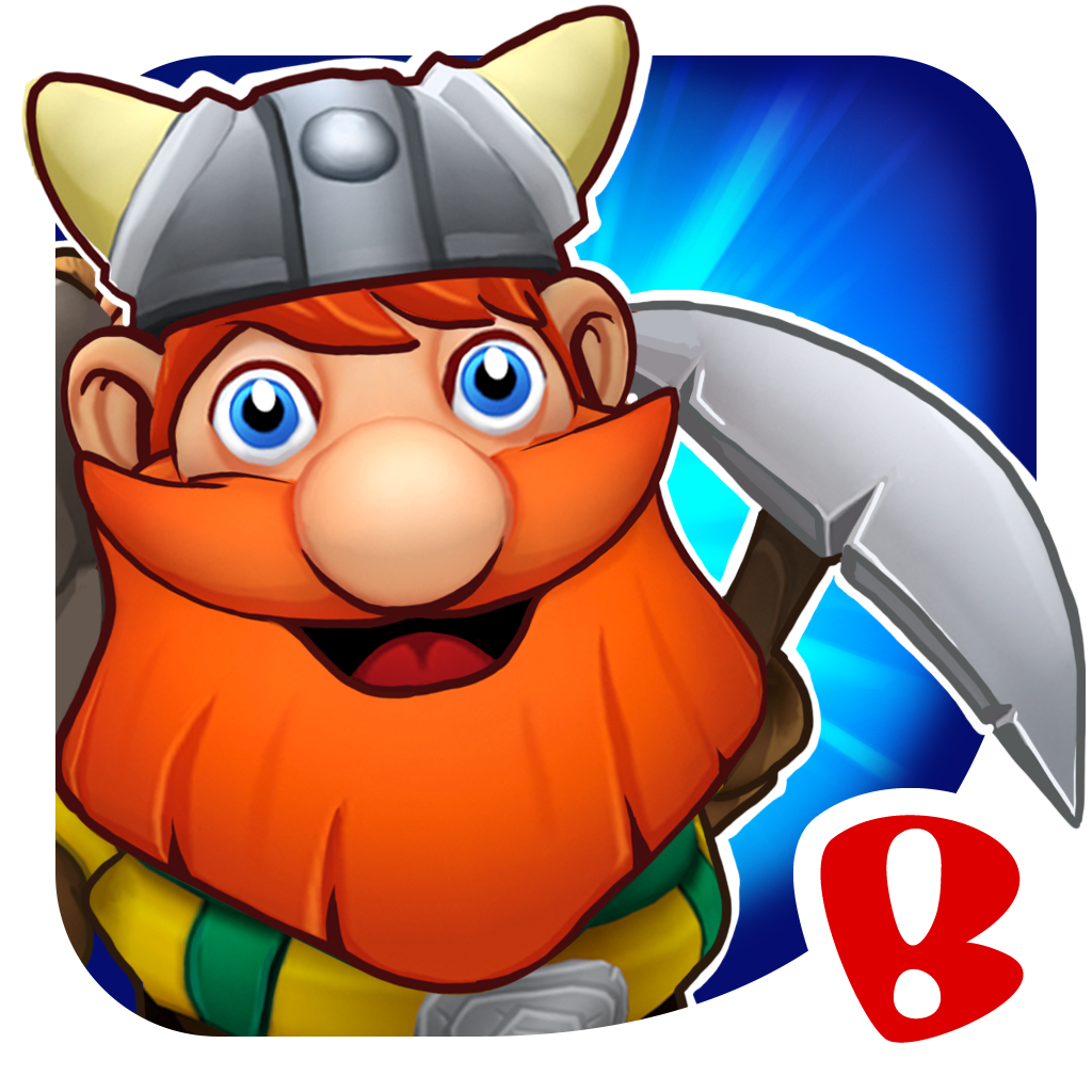 Dwarven Den™ - The Mining Puzzle Game iOS